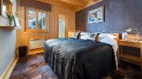 fresh bedroom linens in Chalet Sorojasa luxury apartment, holiday home, vacation rental