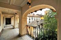 fabulous terrace of Villa San Giulio luxury apartment