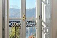 cool access to the balcony of Villa San Giulio luxury apartment