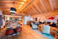 well-appointed Chalet Delormes luxury apartment, holiday home, vacation rental