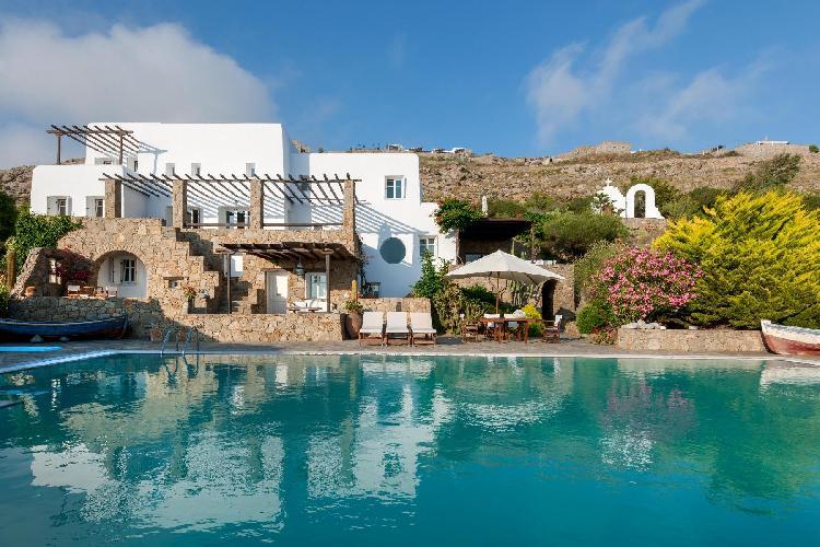 splendid Mykonos Grand Retreat Villa luxury holiday home, vacation rental