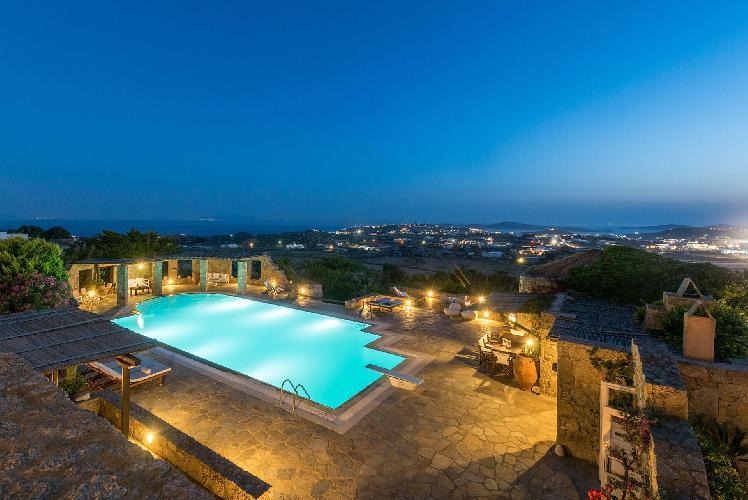 splendid sea view from Mykonos Grand Retreat Villa luxury holiday home, vacation rental