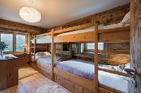 clean bedroom linens in Chalet Toundra luxury apartment, holiday home, vacation rental