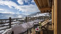 amazing balcony of Chalet Le Daray Penthouse luxury apartment, holiday home, vacation rental