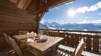 fun terrace of Chalet Le Daray Penthouse luxury apartment, holiday home, vacation rental