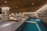 cool pool of Chalet Sirocco luxury apartment, holiday home, vacation rental