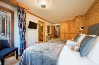 clean bedroom linens in Chalet Shalimar luxury apartment, holiday home, vacation rental