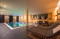 awesome pool of Chalet Shalimar luxury apartment, holiday home, vacation rental