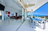 cool lanai of Thailand - Baan Bon Khao luxury apartment, holiday home, vacation rental