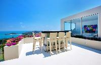 cool balcony of Thailand - Baan Bon Khao luxury apartment, holiday home, vacation rental