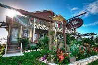 cool entrance of Bahamas - Villa Allamanda luxury apartment