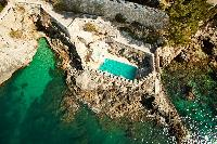 beautiful aerial view of Luxury Villa Sheherezade holiday home and vacation rental