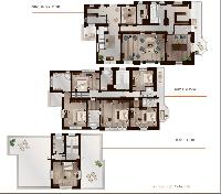 cool layout of Luxury Villa Sheherezade holiday home and vacation rental