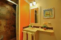 spic-and-span bathroom in Bahamas - Villa Allamanda Efficiency Suite luxury apartment