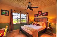 crisp bedroom linens in Bahamas - Villa Allamanda Queen Studio A luxury apartment