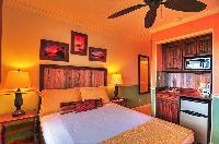 fresh bedroom linens in Bahamas - Villa Allamanda Queen Studio A luxury apartment