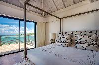 clean bed sheets in Barthelemy Estate luxury apartment, holiday home, vacation rental