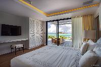 clean bedroom linens in Barthelemy Estate luxury apartment, holiday home, vacation rental