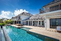 cool swimming pool of Barthelemy Estate luxury apartment, holiday home, vacation rental