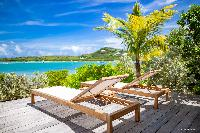 awesome deck of Barthelemy Estate luxury apartment, holiday home, vacation rental