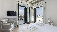clean bedroom linens in Villa One and Only luxury holiday home and vacation rental