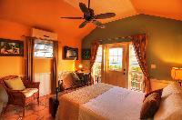 fresh bed sheets in Bahamas - Villa Allamanda Queen Studio B luxury apartment