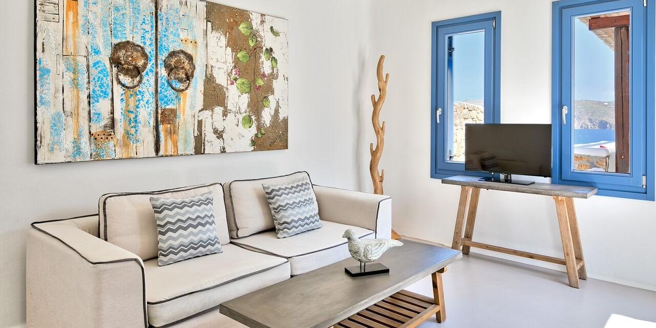 Panormos Luxury Two Bedroom Private Pool Villa