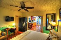 pristine bedding in Bahamas - Villa Allamanda King Suite A luxury apartment
