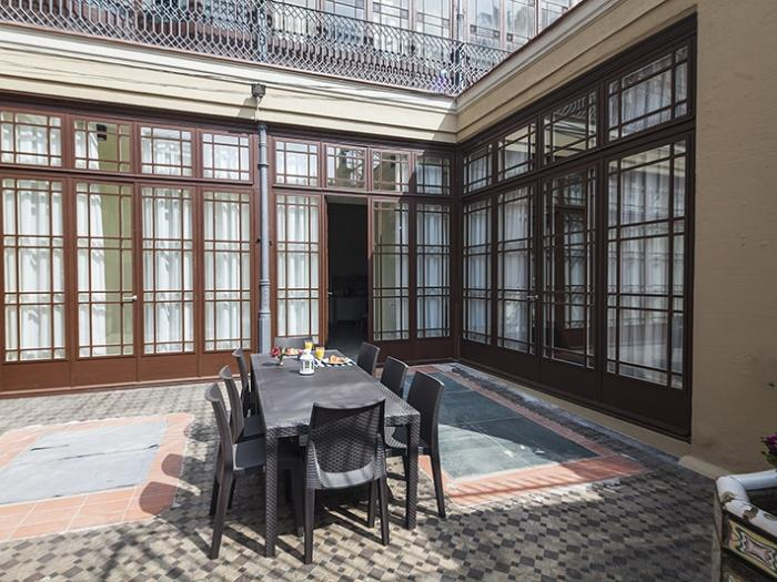 awesome Barcelona Eixample - Pau Claris Luxury Terrace Apartment 1 holiday home and vacation rental