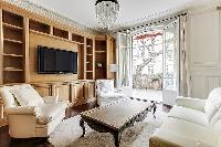 fabulous living room of Passy - Vignes luxury apartment