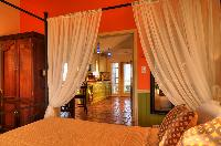 pristine bedding in Bahamas - Villa Allamanda King Suite B luxury apartment
