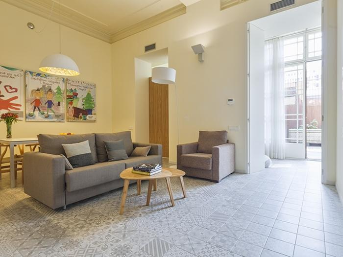 awesome Barcelona Eixample - Pau Claris Luxury Terrace Apartment 2 holiday home and vacation rental