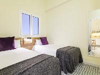 clean and fresh bedroom linens in Barcelona Eixample - Pau Claris Luxury Apartment 1