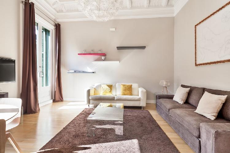 nice Downtown Barcelona - Rambla Catalunya luxury apartment