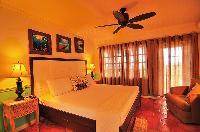 fresh bedroom linens in Bahamas - Villa Allamanda Twin Suite luxury apartment