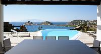 splendid sea view from Mykonos Villa Estilo luxury holiday home and vacation rental