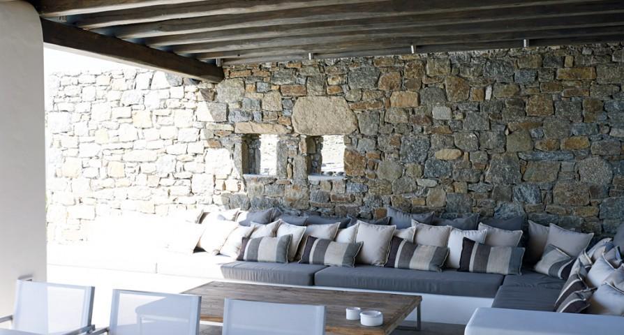 awesome Mykonos Villa Estilo luxury holiday home and vacation rental