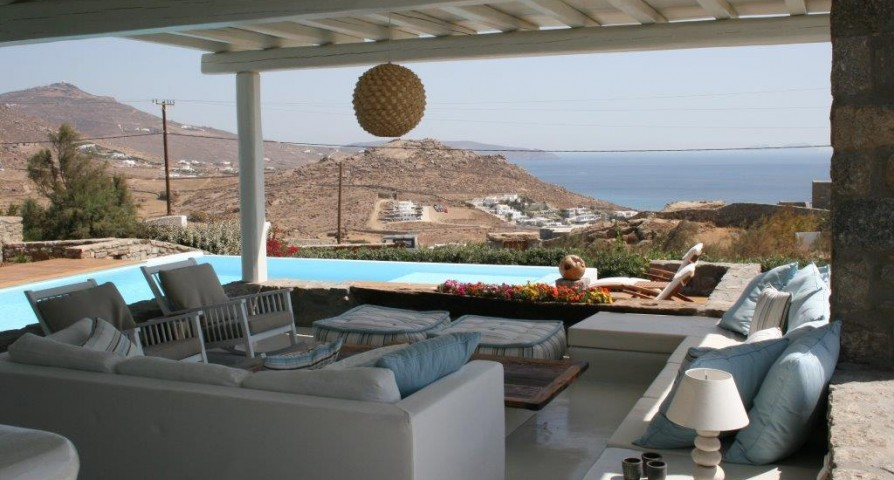 awesome sea view from Villa Ivory Rock luxury holiday home and vacation rental
