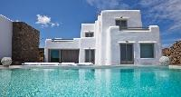 cool swimming pool of Villa Kalafatis View 2 luxury holiday home and vacation rental