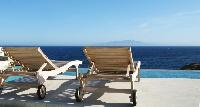 awesome sea view from Mykonos Villa Karali luxury holiday home and vacation rental