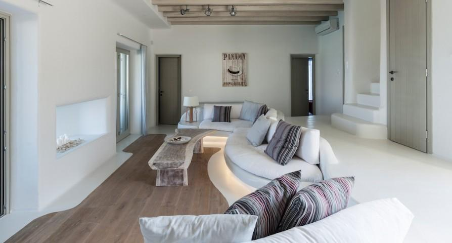 nice Mykonos Villa Light Pearl luxury holiday home and vacation rental