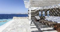 beautiful seafront Villa Melia Mykonos luxury holiday home and vacation rental