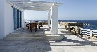 awesome sea view from Villa Melia Mykonos luxury holiday home and vacation rental
