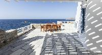 amazing sea view from Villa Melia Mykonos luxury holiday home and vacation rental