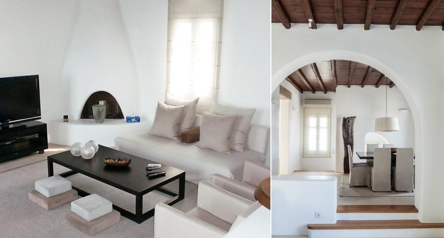 nice Villa Melia Mykonos luxury holiday home and vacation rental
