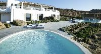 awesome pool of Villa Mermedia luxury holiday home and vacation rental