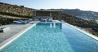 amazing pool of Villa Mermedia luxury holiday home and vacation rental
