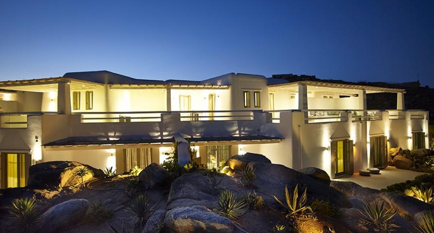 majestic Villa Mermedia luxury holiday home and vacation rental