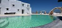 cool swimming pool of Villa Nefeli luxury holiday home and vacation rental