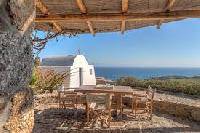 awesome seafront Villa Nefeli luxury holiday home and vacation rental